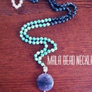 DIY Mala Bead Necklace