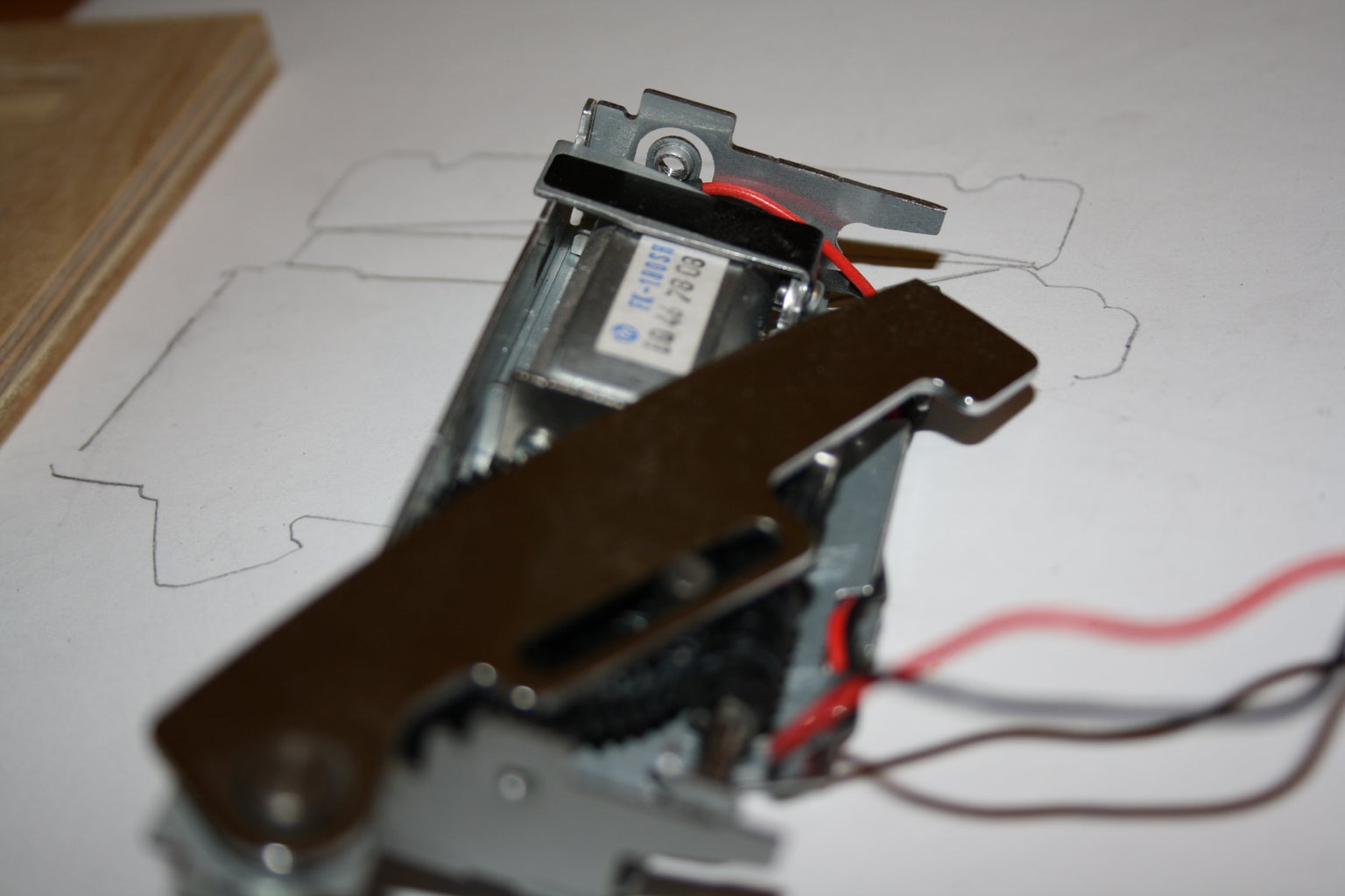 Smoothing the Cutting Blade Assembly