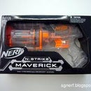 Nerf Maverick Air Restrictor and Fall Out Mods