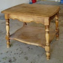 REFINISH A TABLE