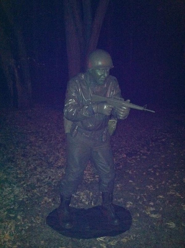 How to Transform Yourself Into a Green Army Man