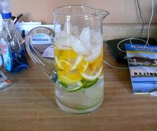 Citrus Mint Water