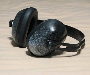 Water Drop Painted Jack Hammer Headphones