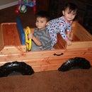 Toy Box / Truck Combo 2x4