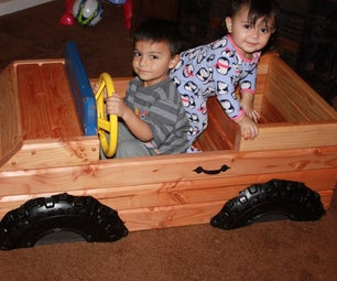 Toy Box / Truck Combo 2x4