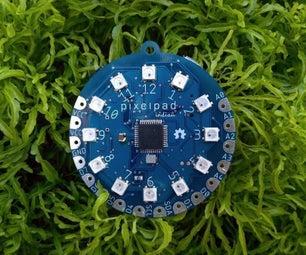 PixelPad Indian : Programmable Electronic Badge