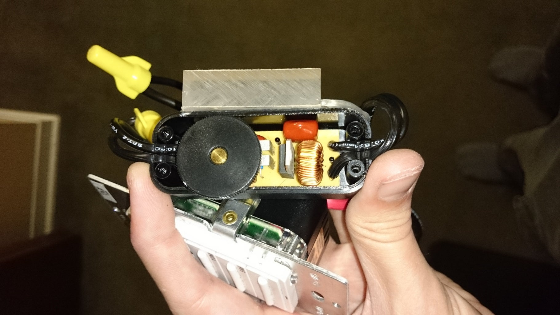 Taking Apart the Dimmer