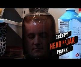 Halloween Prank: DIY Head in a Jar