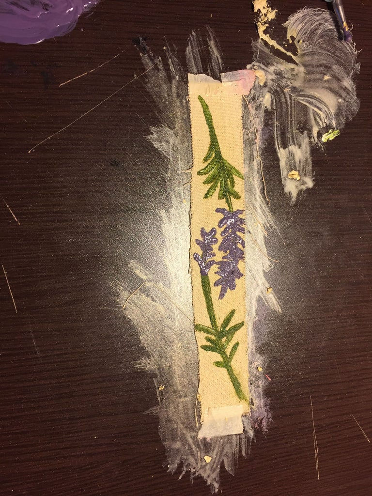Painting a Lavander