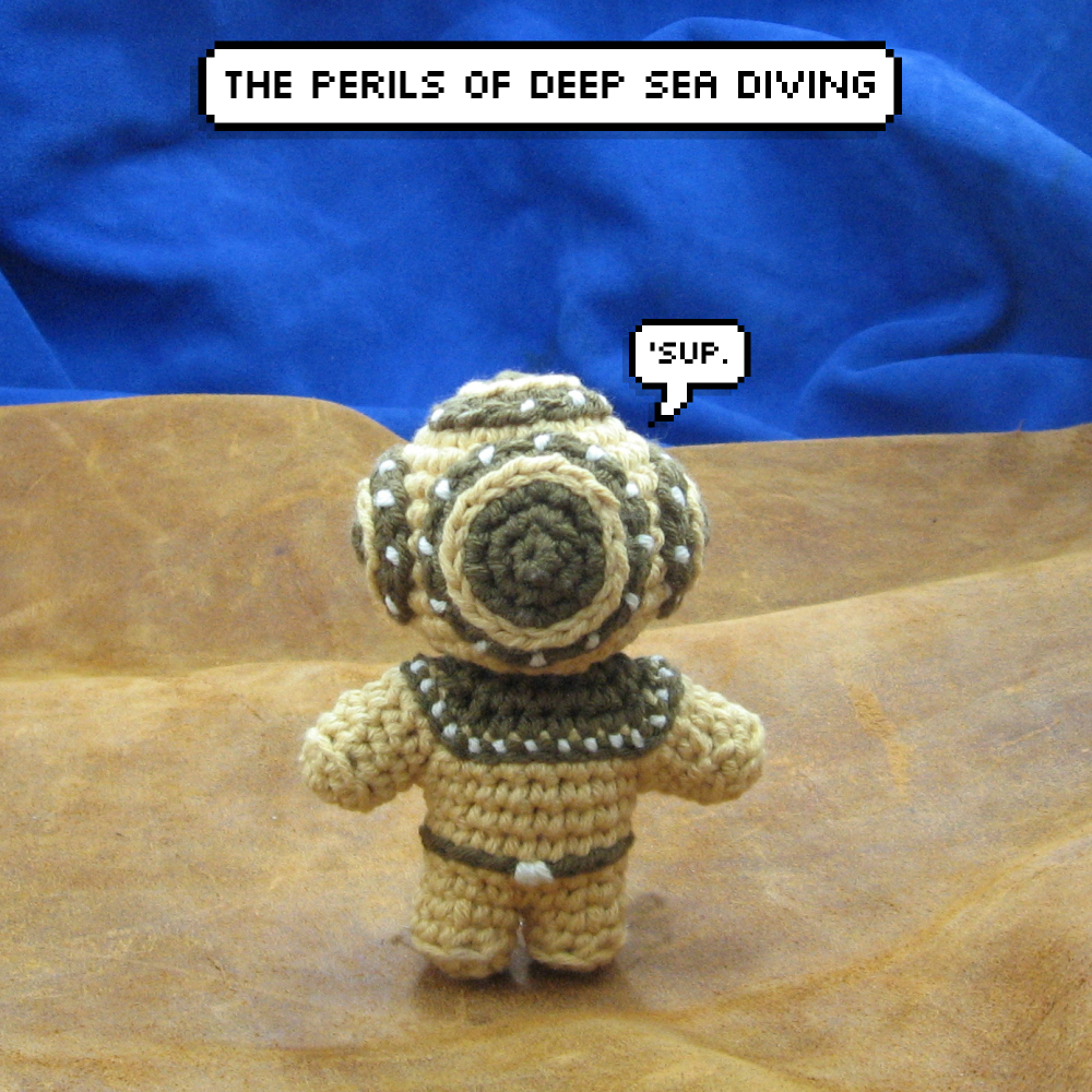 Amigurumi and the Perils of Deep Sea Diving