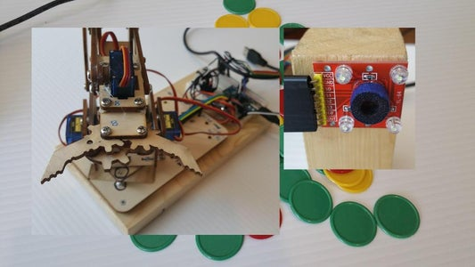 MeArm Color Chip Sorter