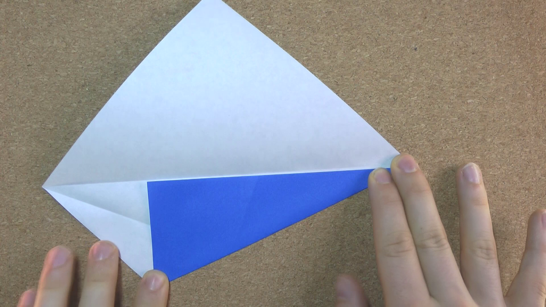 Fold and Unfold to Kite Shape
