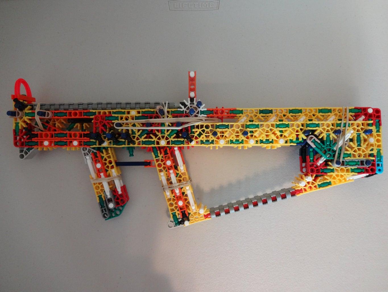 K'NEX RBLTR V.1 (Red's Breach Loading Tactical Rifle) (Build)