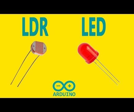 Arduino - LDR With LED