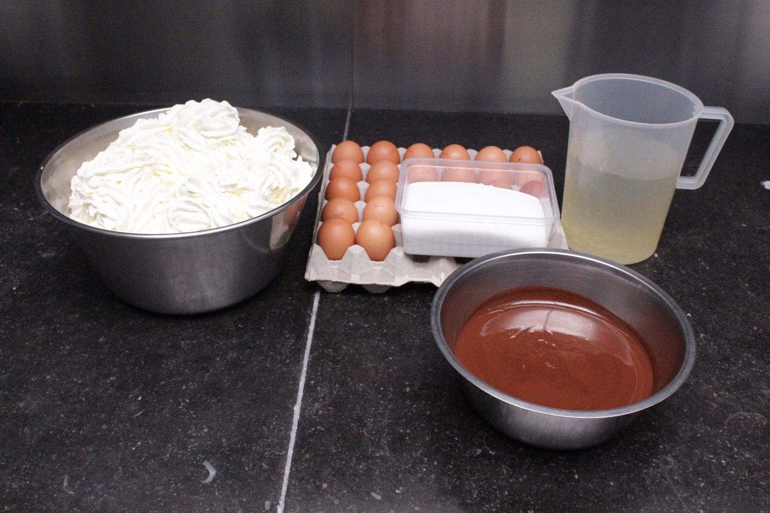 Chocolademousse Maken.