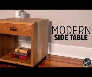 Modern Side Table Build