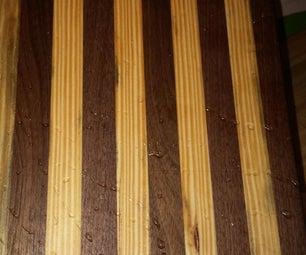 Cutting Board Walnut and Pine