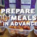 Prepare 20+ Meals in Advance