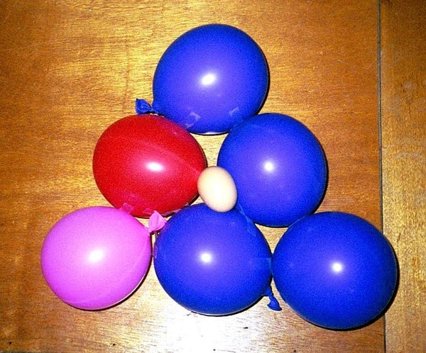 How to Drop an Egg One Story Without It Breaking : Bouncy Ballons
