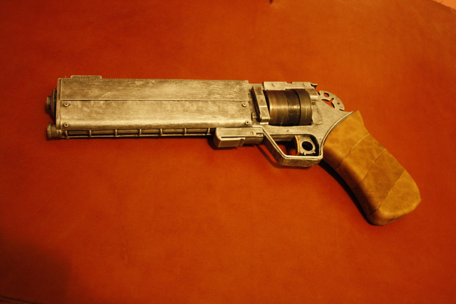 Quasi-Dimensional Air Displacing Revolver