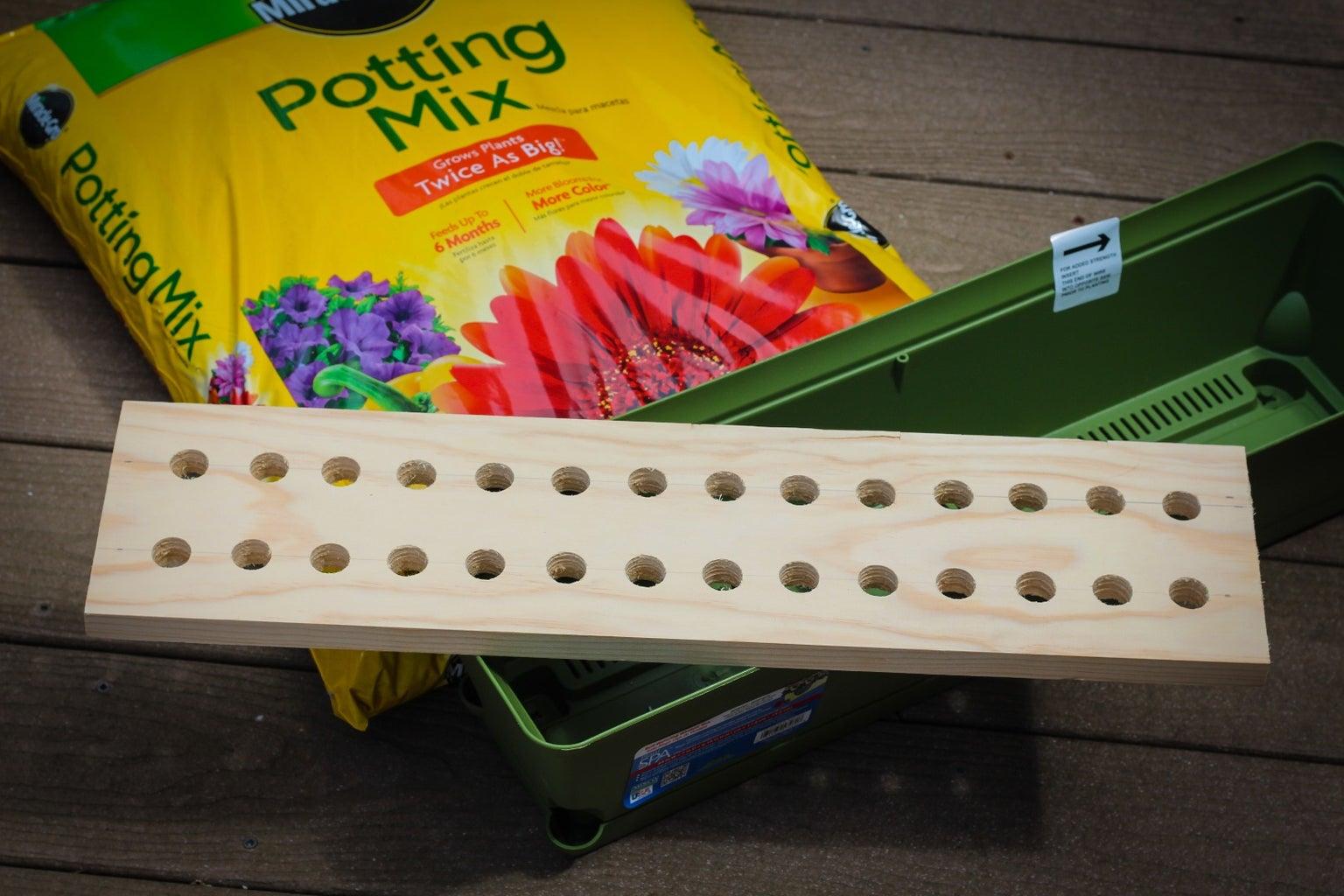 Window Box Template Gardening