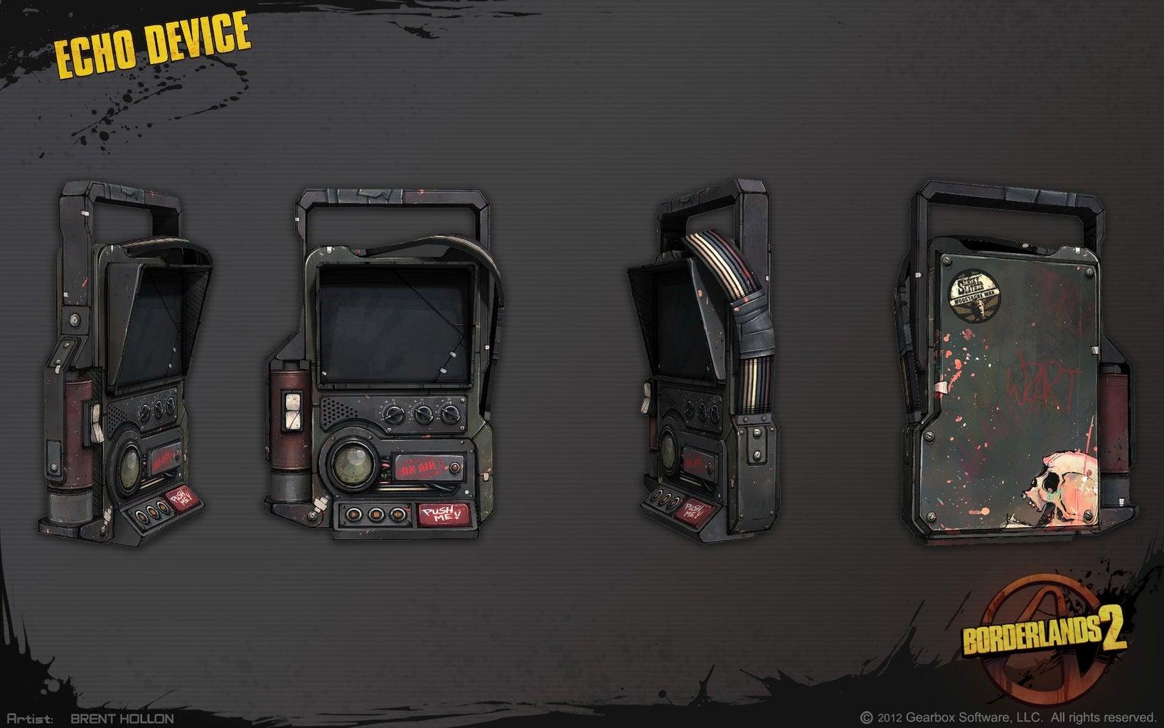 Borderlands 2 Echo Device