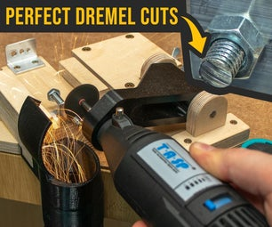 Make PERFECT CUTS With This DIY Dremel Cutting Station