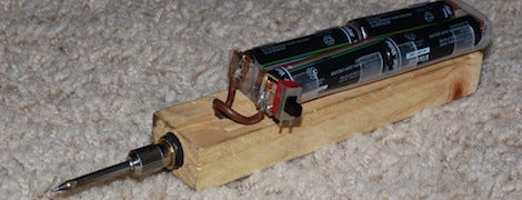 DIY Soldering Iron From Household Items