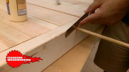 Countersunk Screw Holes With Dowels