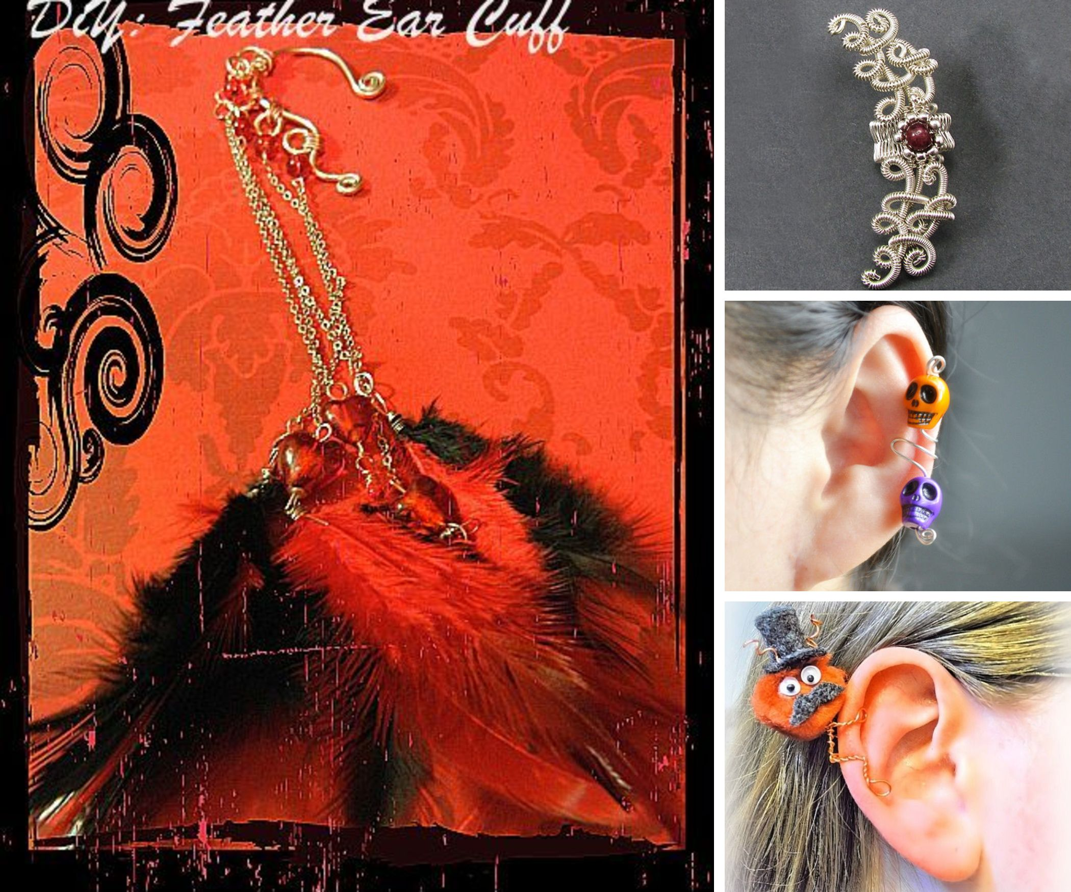 beautiful Ear cuffs