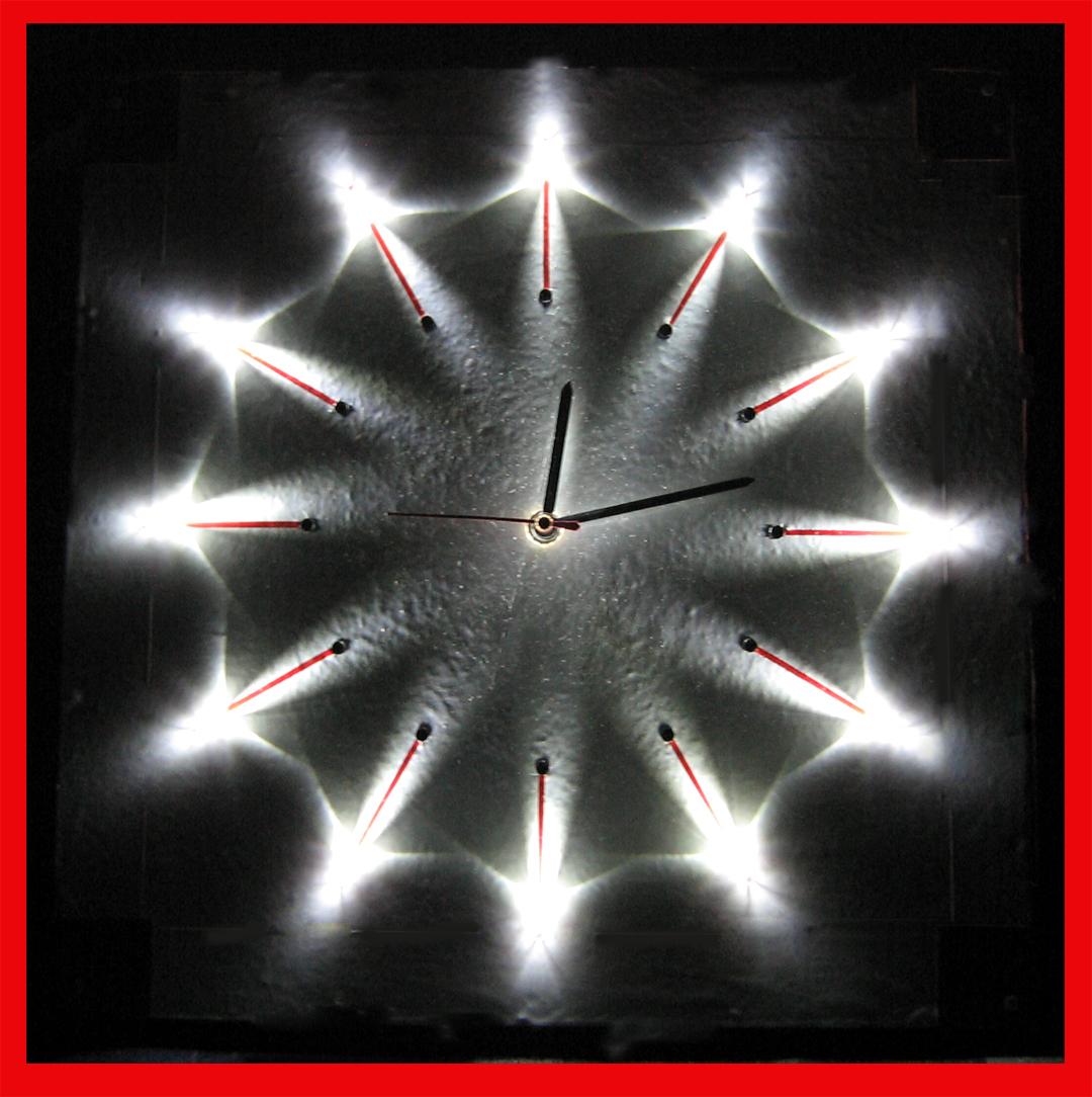 LED CLOCK cum NIGHT LAMP