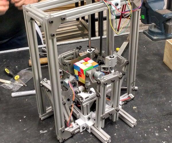 Mechatronic Rubik Cube Solver