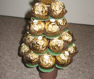 Mini Ferrero Christmas Tree Calender