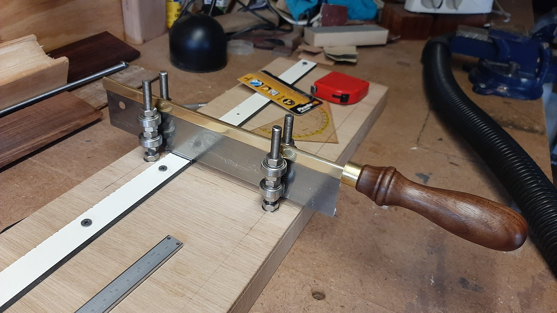 Installing New Fretboard Second Try
