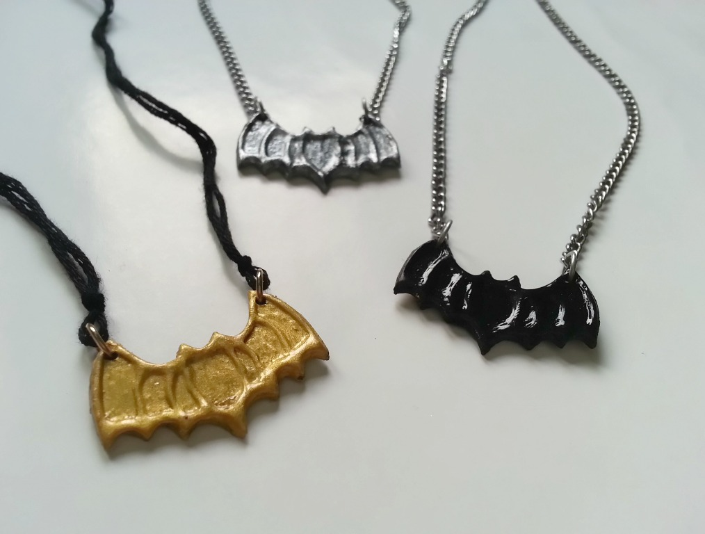 Easy To Make Bat Pendants