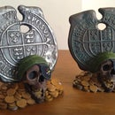 Goonies Pirate Coin Display Stand
