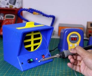 DIY 3D-Printed Soldering Fume Extractor