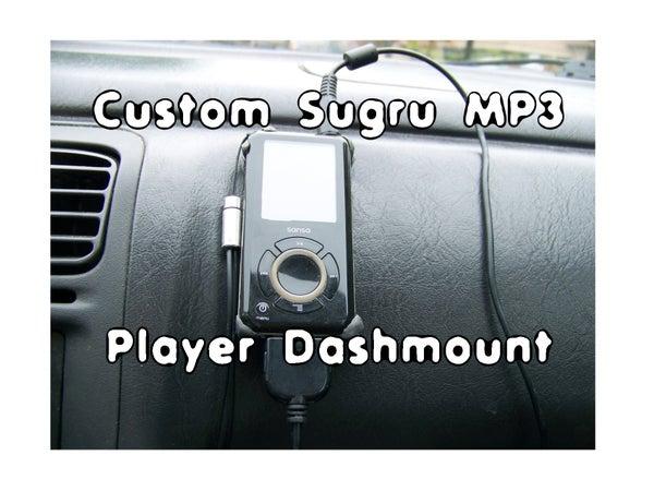 Sugru Dash Mount for Electronics