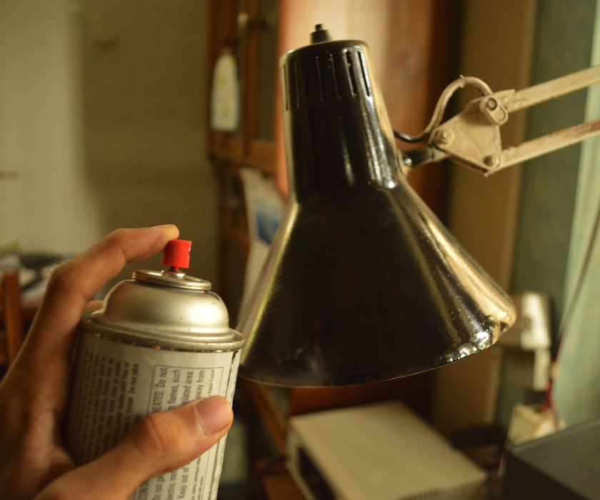 Restoring an Old Lamp