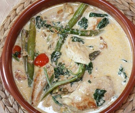 Creamy Spinach Chicken