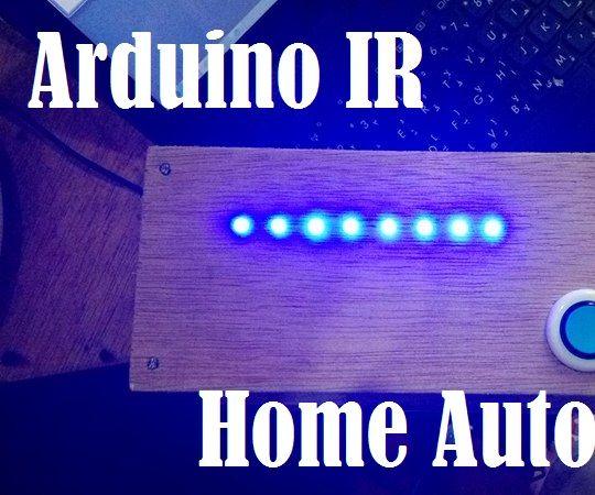 Arduino IR Home Automation V1.0