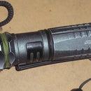 Make the world's brightest blue led flashlight
