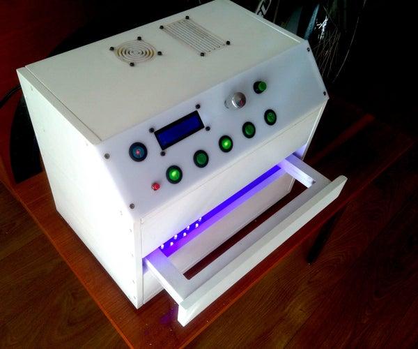 UV  Two-sided Exposure Box