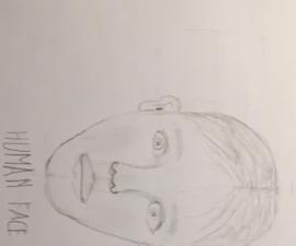 如何画一个人的脸