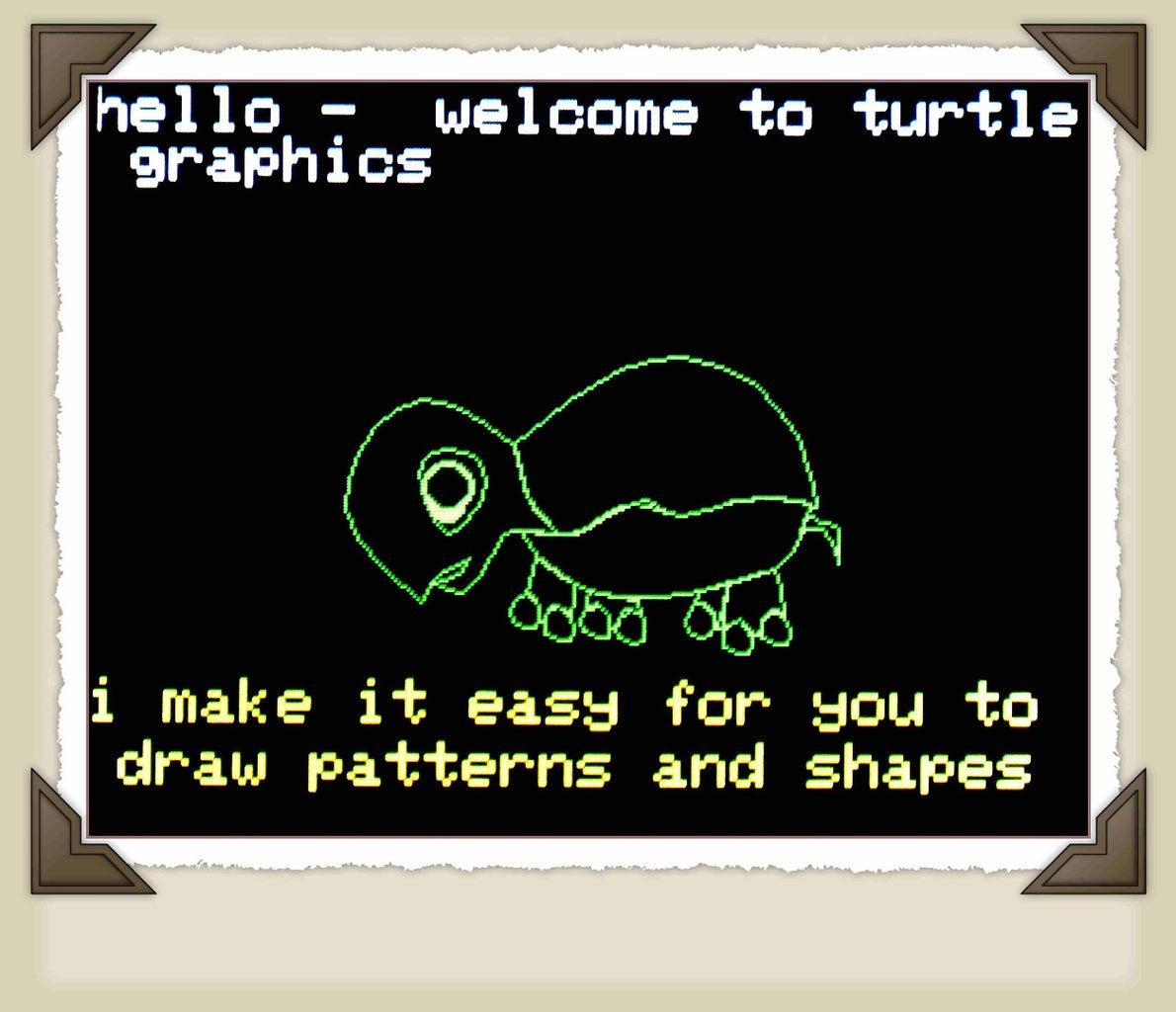 Arduino + TFT --> Turtle Graphics