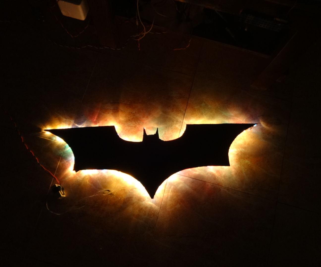 Batman Wall Light!