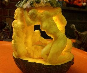 Figure Sculpture Pumpkin
