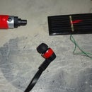 Sound Laser using Laser light and Solar panel