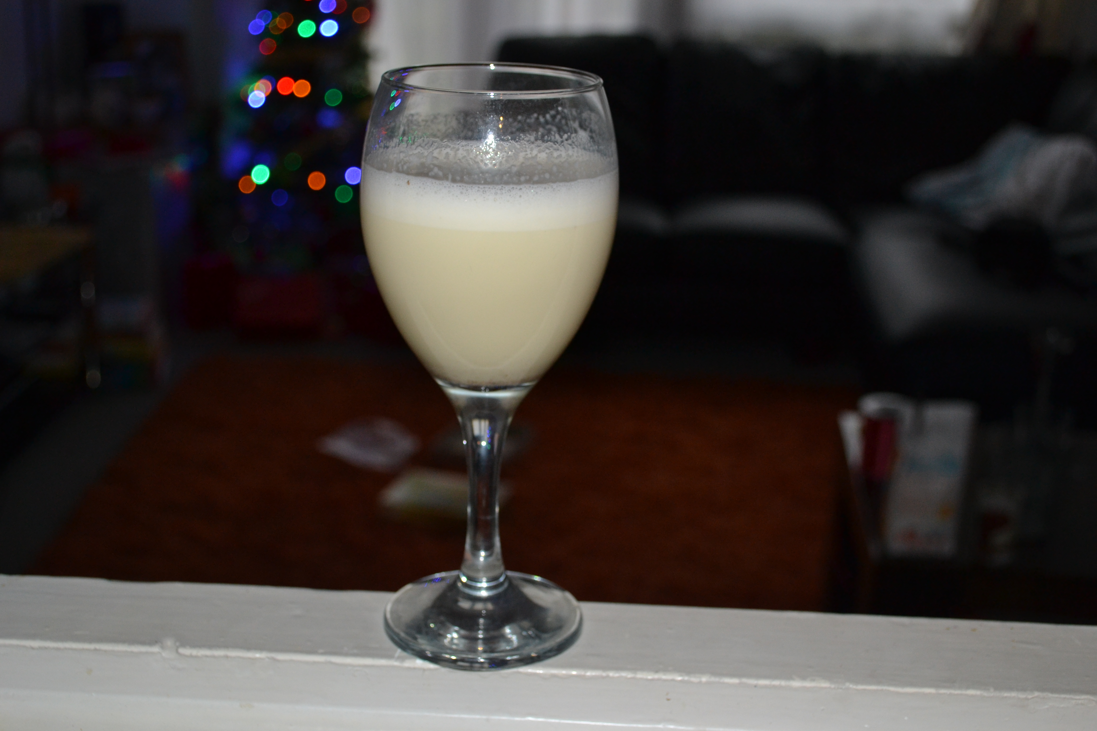 How To Make Creamy 1 Minute Eggnog - Kids/Adults Version