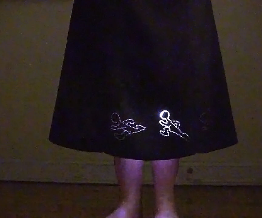 Skirt Chaser: zoetrope skirt